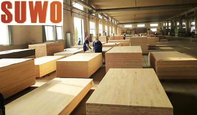 nhà máy gỗ ghép